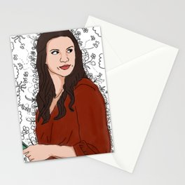 Sister Jo White Stationery Cards