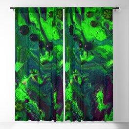 Green Plasma Blackout Curtain