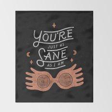 Sane Throw Blanket