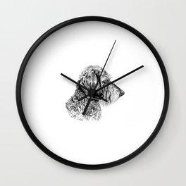 Teckel Wall Clock