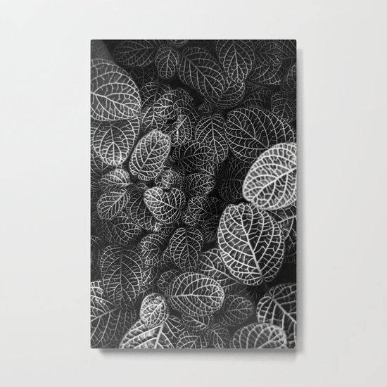 Curtain pattern 05 Metal Print