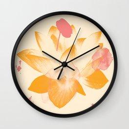 Lotus Dreams 1 - Design by Jen Sievers Wall Clock