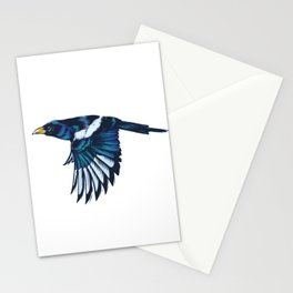 Yellow-billed Magpie Stationery Cards