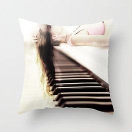 coup de grâce Throw Pillow