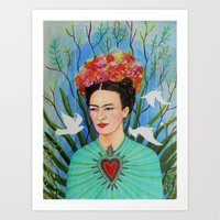 elevar my corazon Art Print