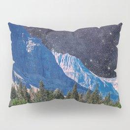 Night Sky Mountain Pillow Sham