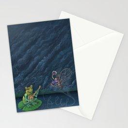 Frog & Fly: By Bradley Rabkin Golden Stationery Cards