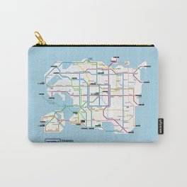Tamriel Routemap Carry-All Pouch