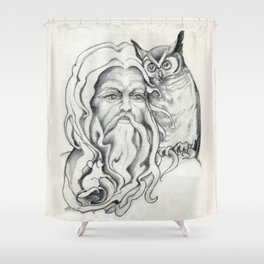 Endor The Wizard Shower Curtain