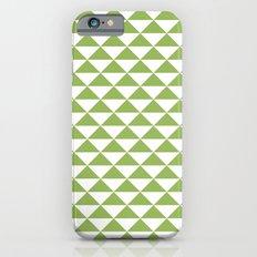 Greenery pyramid iPhone 6s Slim Case