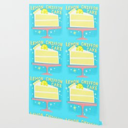All American Classic Lemon Chiffon Cake Wallpaper