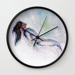 Rainbow Nude Wall Clock