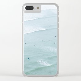 Tiny Surfers from the Sky 2, Lima, Peru Clear iPhone Case