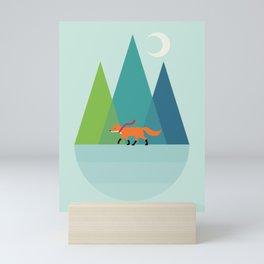 Walk Alone Mini Art Print