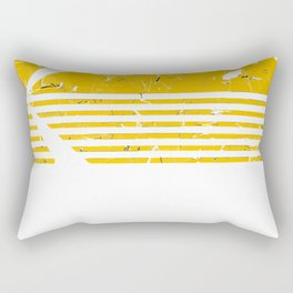Vintage Photography  Kodak Kodachrome - Yellow Rectangular Pillow