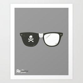 The Smartest Pirate Art Print
