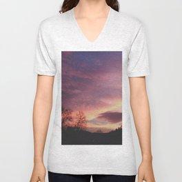 sky above me Unisex V-Neck