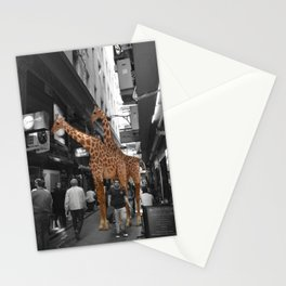 Safary in City. African Invasion. Stationery Cards