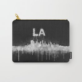 Los Angeles City Skyline HQ v5 WB Carry-All Pouch