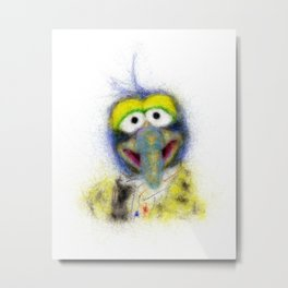 Gonzo, The Muppets Metal Print