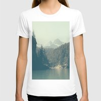 diablo T-shirts featuring The departure - Diablo Lake by jordanwlee.com