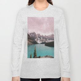 Moraine Lake Banff National Park Long Sleeve T-shirt