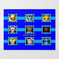Stage Select Canvas Print