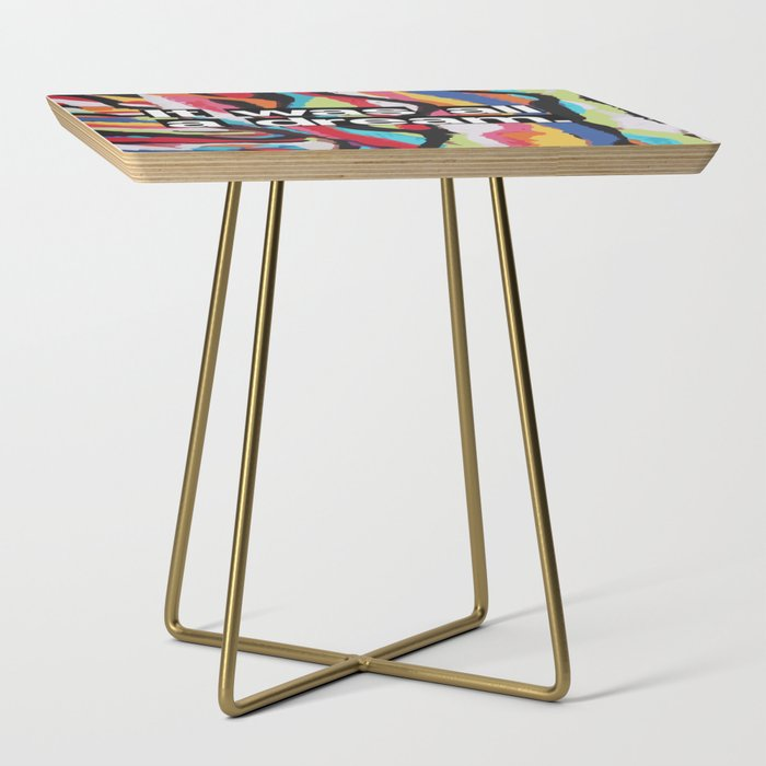 """""""It Was All A Dream"""" Biggie Smalls Inspired Hip Hop Design Side Table"""