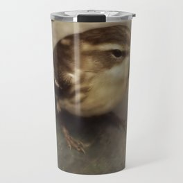 First Fall Female Blackburnian Warbler Travel Mug