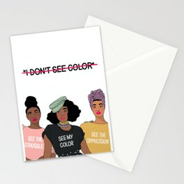 See Color Stationery Cards
