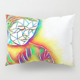 Colorful Sadness Pillow Sham