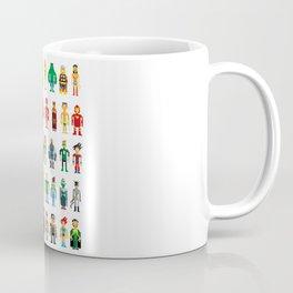 Pixel Heroes Coffee Mug