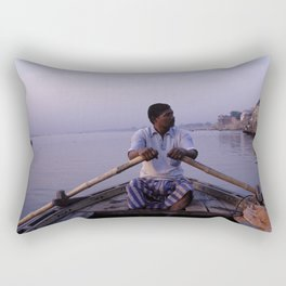 On The Ganges Rectangular Pillow