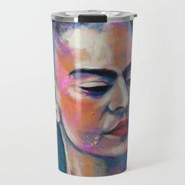 Je te ciel, hommage à Frida Kahlo Travel Mug