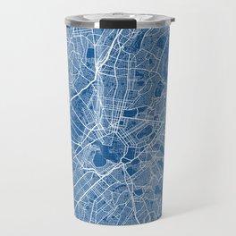 Athens City Map of Greece - Blueprint Travel Mug