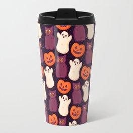Halloween Marshmallows Travel Mug