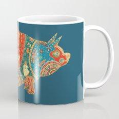 Painted Pig Mug
