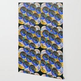 Circle design Number 5 Wallpaper