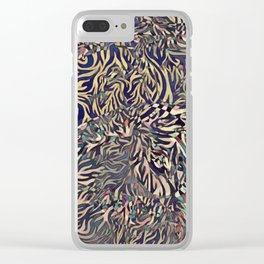 Flaming Phenomena Clear iPhone Case