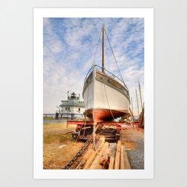 Dry Docked Mister Jim   Art Print