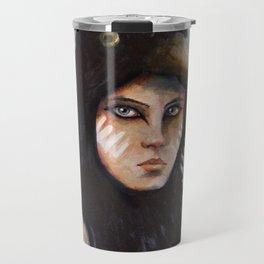 Raven girl Travel Mug