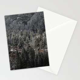 Powdered Mountain Stationery Cards