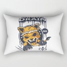 BrainDrainFox Rectangular Pillow