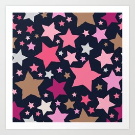 All About the Stars - Style A Art Print