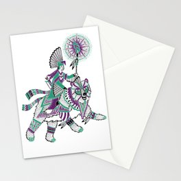 The Bear Rider Stationery Cards