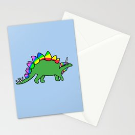 Stegocorn (Unicorn Stegosaurus) Stationery Cards