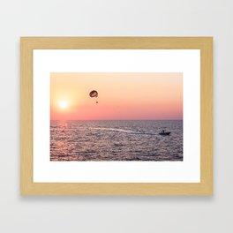 Sunny happiness Framed Art Print