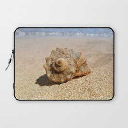 whelk on the beach Laptop Sleeve