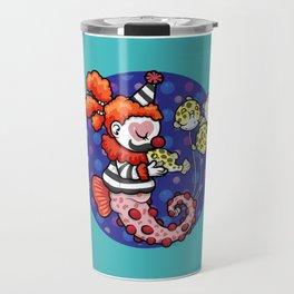 Cecil the Clown Fish Travel Mug