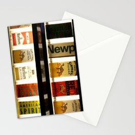 Cigarette Machine Stationery Cards